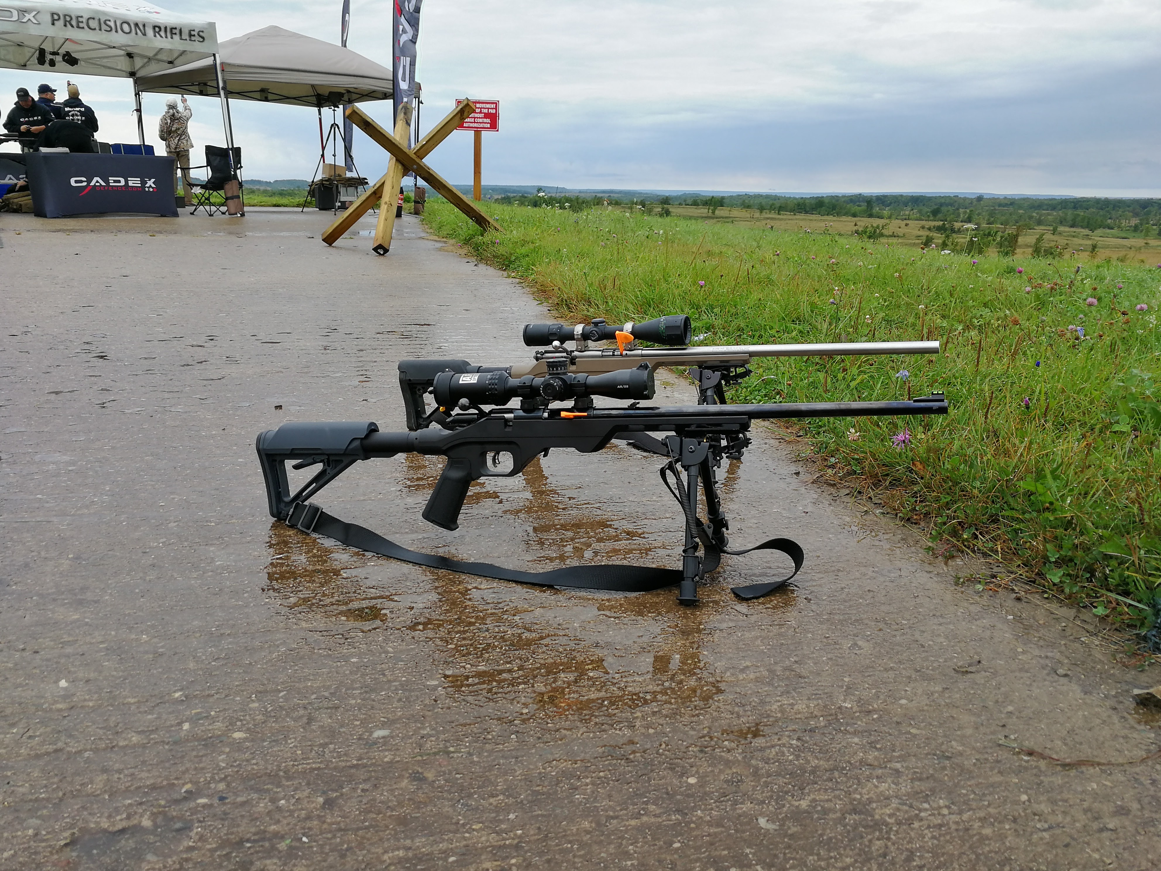 What is the Canadian Rimfire Precision Series?