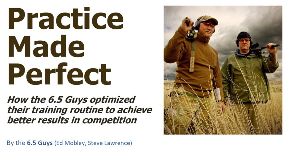 Becoming better at anything takes practice.  Here's a great article on precision shooting training